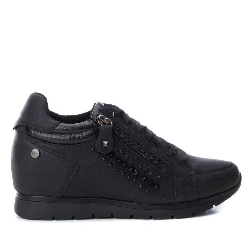 1eb850518 Zapato mujer Cordones modelo 48268 de color negro - Xti