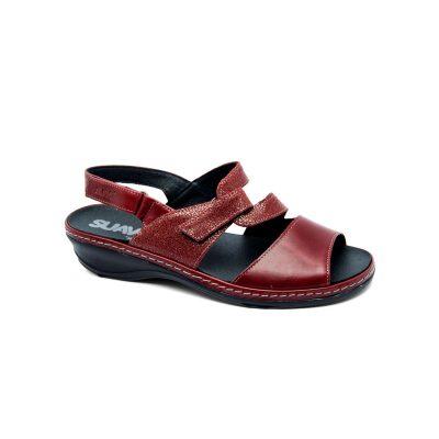 sandalia-suave-modelo-3039-scarlet-rojo-calzados-puri-1