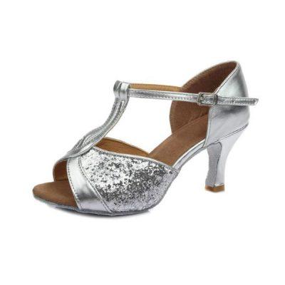 zapato-baile-salon-latino-mujer-plata-sujeto-empeine
